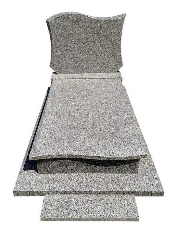 Nagrobek z granitu Strzelin