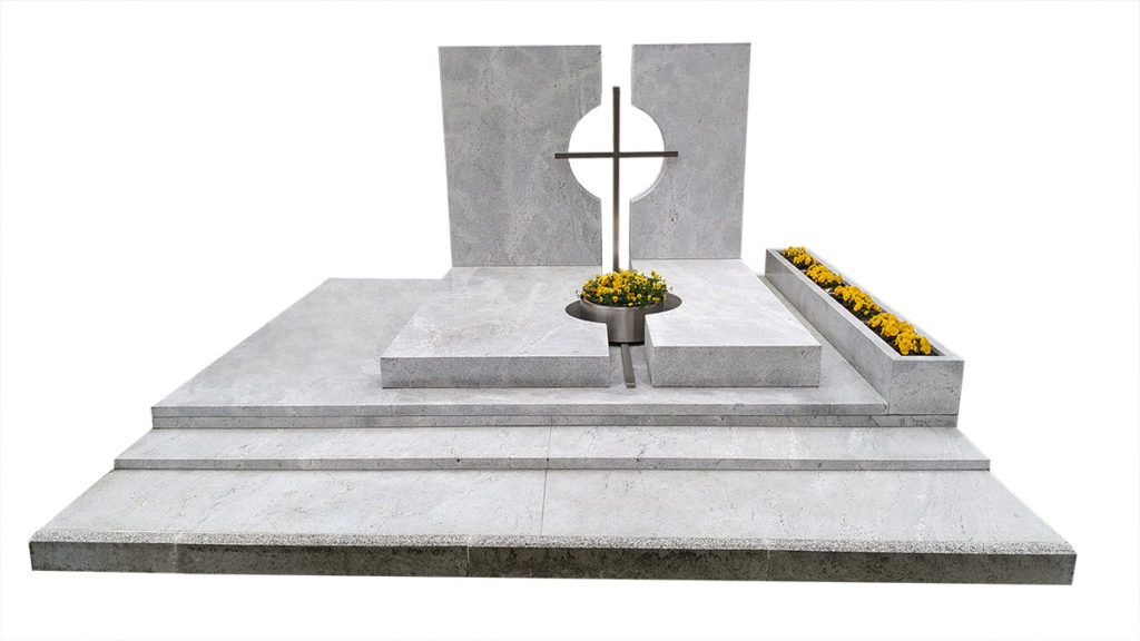 Grobowiec z granitu Viscount White
