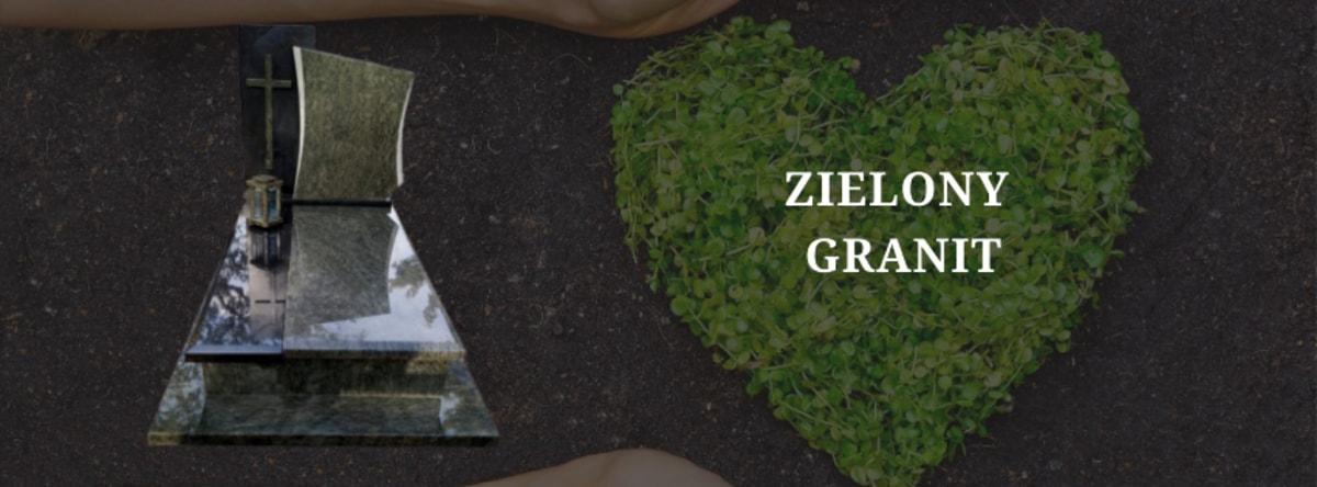 zielony granit