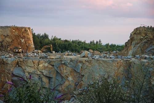 kamieniołom w chinach wydobycie granitu