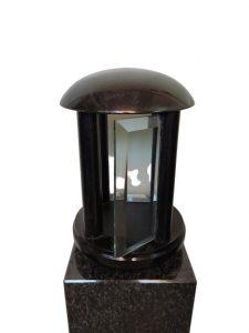 akcesoria nagrobkowe lampion granitowy na cmentarz