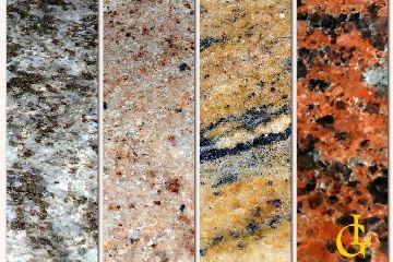 Parapety z granitu z kapinosem