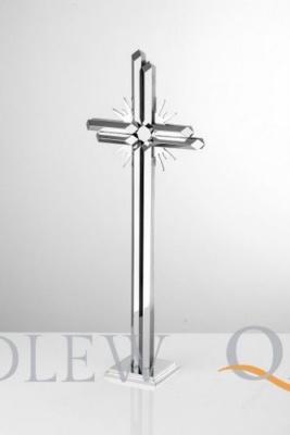 krzyż stojący z płomieniami KS18