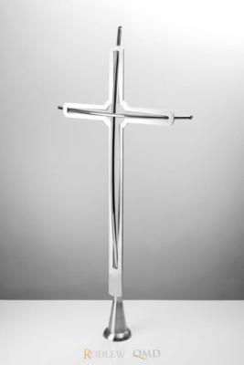 krzyż stojący z pręta wygiętego 439a