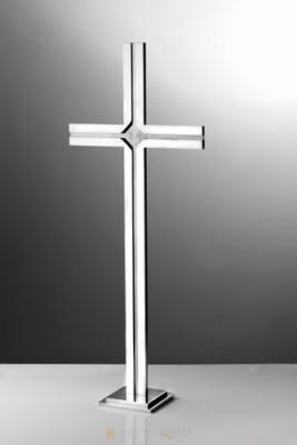 krzyż stojący z rowkiem i fazą KS12