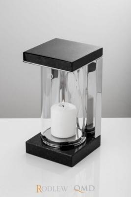 Lampion ze stali i granitu Szwed