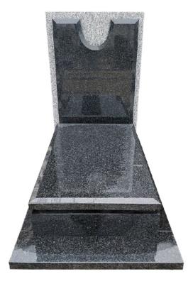 Nagrobek z granitu strzelińskiego i Impali