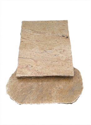 Nagrobek urnowy z granitu Madura Gold