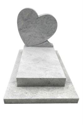 Pomnik dla dziecka z serduszkiem Imperial White