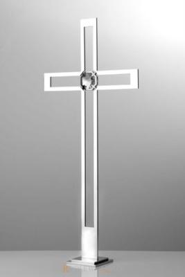 krzyż stojący z kryształem KS 6